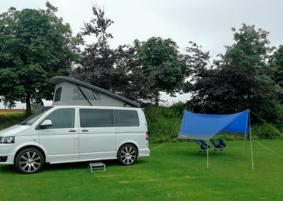 VW Camper on our camp site